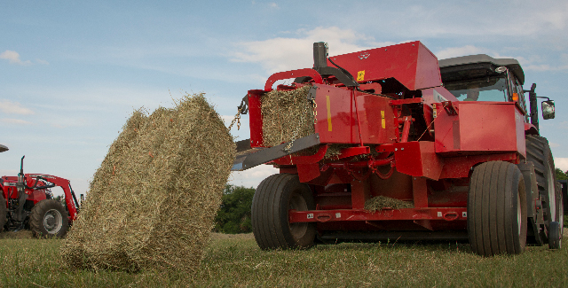 Hesston by Massey Ferguson Small Square Baler